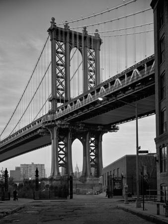 Manhattan Bridge Tower Brooklyn