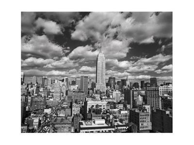 Manhattan Clouds - New York City, Top View, Empire State Building by Henri Silberman