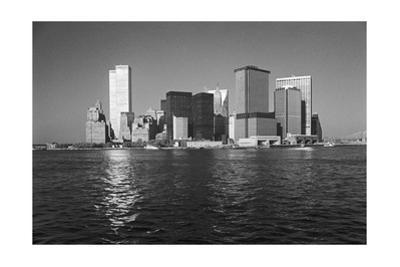 Manhattan East River From Staten Island Ferry by Henri Silberman
