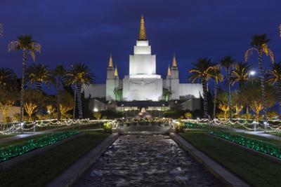 Morman Temple, Oakland, CA 3 (Iconic Buildings Christman Season) by Henri Silberman
