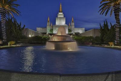 Morman Temple, Oakland, CA 4 (Iconic Buildings Christman Season) by Henri Silberman