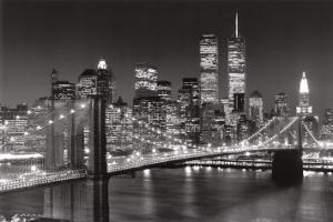 Brooklyn bridge posters at allposters new york new york brooklyn bridgehenri silberman malvernweather Choice Image