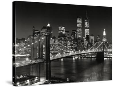 New York New York Brooklyn Bridge by Henri Silberman  sc 1 st  AllPosters.com & Black u0026 White Photography Canvas Posters for sale at AllPosters.com