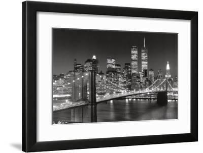 New York, New York, Brooklyn Bridge by Henri Silberman