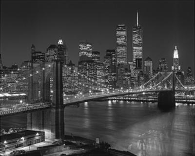 New York, New York, Brooklyn Bridge by Henri Silberman