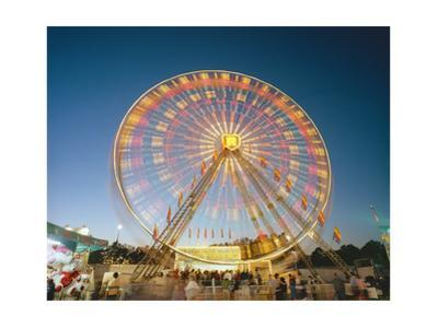 North Carolina State Fair Ferris Wheel by Henri Silberman
