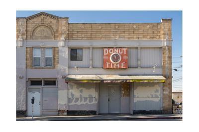 "Oakland Storefront, Macarthur Blvd., ""Donut Time"" by Henri Silberman"