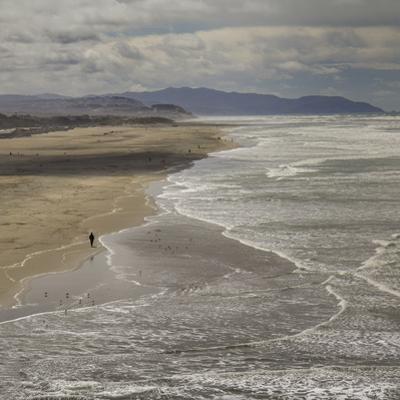 Ocean Beach, San Francisco, CA 1 (Surf, Sand, Shoreline, California Coast, Pacific Ocean) by Henri Silberman