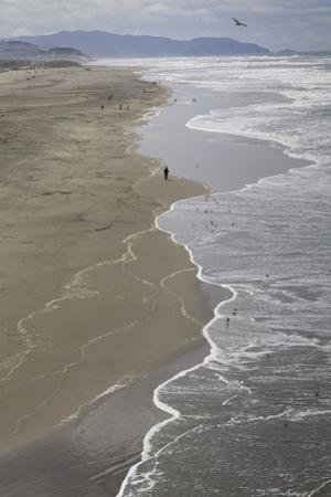 Ocean Beach, San Francisco, CA 2 (Surf, Sand, Shoreline, California Coast, Pacific Ocean) by Henri Silberman