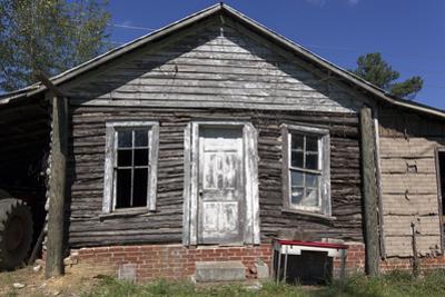 Old Log Cabin, Exterior 5 (Pittsboro, NC) by Henri Silberman