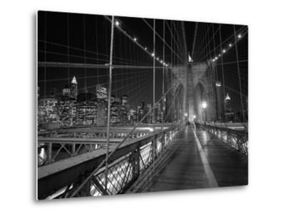 On the Brooklyn Bridge Night