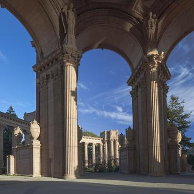 Palace of Fine Arts Columns San Francisco 2 by Henri Silberman