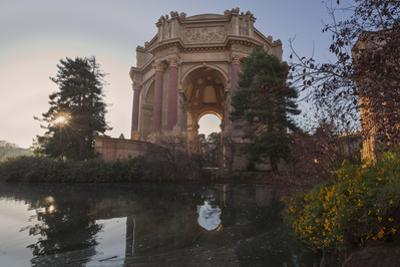 Palace of Fine Arts San Francisco Building and Reflecting Pool by Henri Silberman