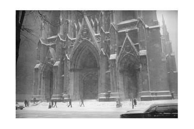 Saint Patrick'S Blizzard by Henri Silberman