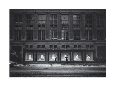 Saks Fifth Avenue In Snow