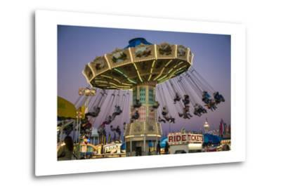 State Fair Ride at Dusk by Henri Silberman