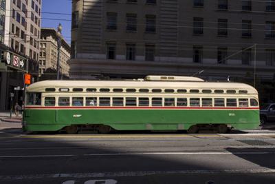 Streetcar on Market Stree, San Francisco, CA (F Line) by Henri Silberman
