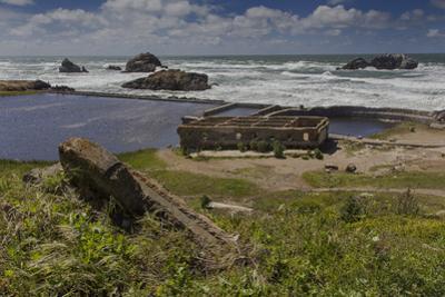Sutro Baths Ruins, San Francisco, CA 1 (Seashore Landmark) by Henri Silberman