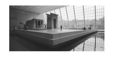Temple Of Dendor Panorama 2 - Metropolitan Museum Of Art by Henri Silberman
