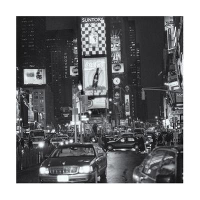 Times Square Rainy Evening 2 by Henri Silberman