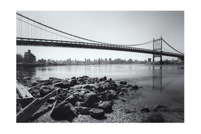 Triboro Bridge Rocks by Henri Silberman