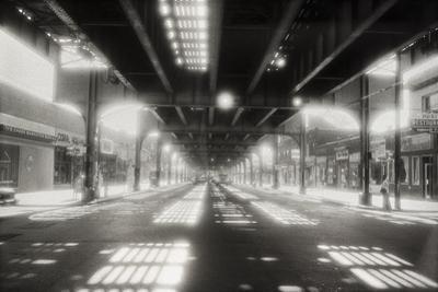 Under Roosevelt Avenue, Queens Nyc by Henri Silberman