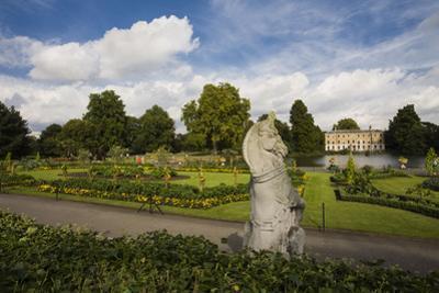 Unicorn Garden Statue with Vegetable Gardens by Henri Silberman