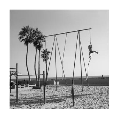 Venice Beach Rope Climber by Henri Silberman