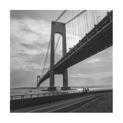 Verrazano Bridge, New York City Afernoon by Henri Silberman