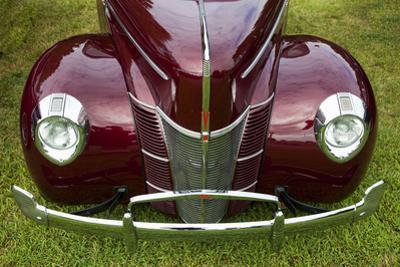 Vintage Car, Close-Up (Front Grille) by Henri Silberman