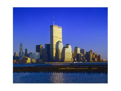 World Financial Center Sunset Afternoon by Henri Silberman