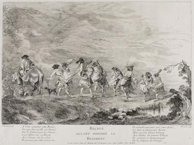 Recruits Going to Join the Regiment, 1717-26