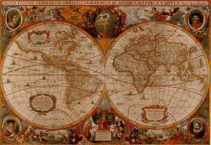 Nova Totius by Henricus Hondius