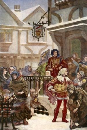 Sir Richard Whittington Distibuting Charity