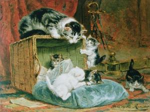 Playtime by Henriette Ronner-Knip