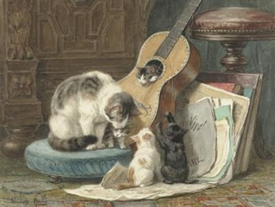 The Harmonists, 1876-77 by Henriëtte Ronner