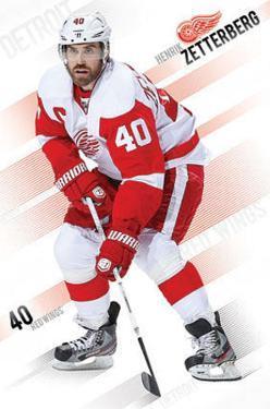 Henrik Zetterberg Detroit Red Wings