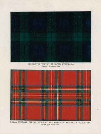 "42nd Royal Highlanders ""The Black Watch"". Regimental Tartans"
