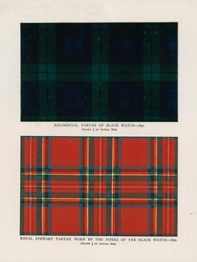 "42nd Royal Highlanders ""The Black Watch"". Regimental Tartans by Henry A^ Payne"