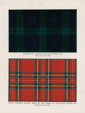 "42nd Royal Highlanders ""The Black Watch"". Regimental Tartans by Henry A. Payne"
