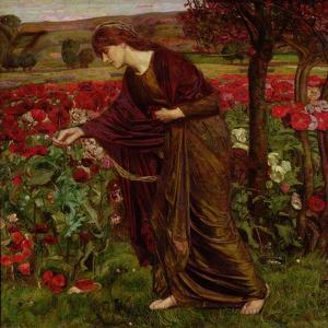 In the Garden of Proserpina, 1893 by Henry A^ Payne