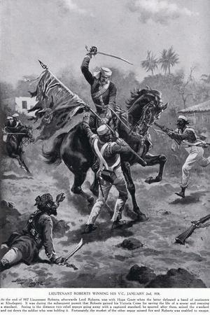 LT Roberts Winning His VC January 1858