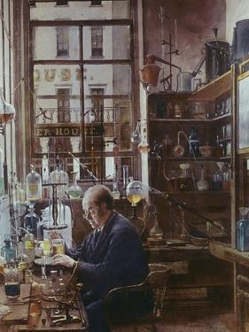 Laboratory of Thos Price by Henry Alexander