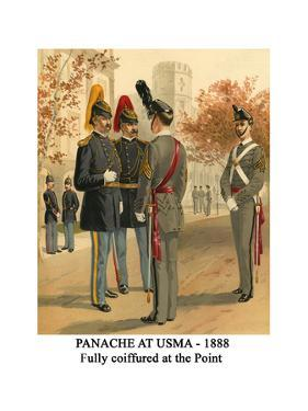Panache at Usma - 1888 - Fully Coiffured at the Point by Henry Alexander Ogden