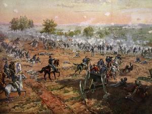The Battle of Gettysburg, July 1St-3rd 1863 by Henry Alexander Ogden