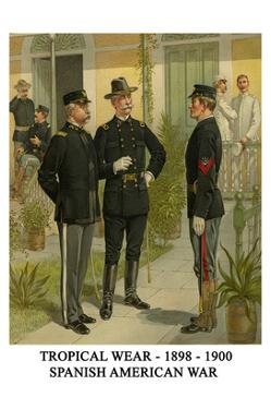 Tropical Wear - 1898 - 1900 - Spanish American War by Henry Alexander Ogden
