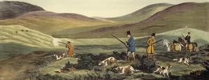 Grouse Shooting by Henry Alken