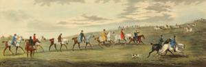 Newmarket: Training by Henry Alken