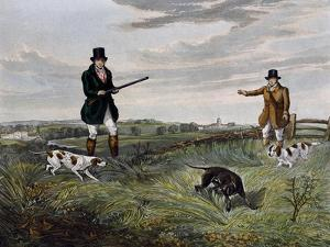 Partridge Hunting, 1835 by Henry Alken