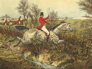 The English Hunt I by Henry Alken